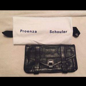 Authentic Proenza Schouler PS1 Clutch Bag Purse